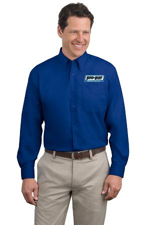 Long Sleeve Easy Care Dress Shirt (Men's & Ladies')