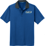Men's Port Authority Fine Stripe Performance Polos