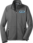 Ladies' Port Authority Pique Fleece Jacket