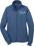 Ladies' Port Authority Slub Fleece Full-Zip (ladies)