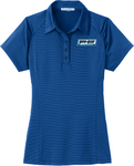 Ladies' Port Authority Fine Stripe Performance Polos