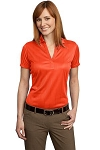 Ladies' Performance Fine Jacquard Polo