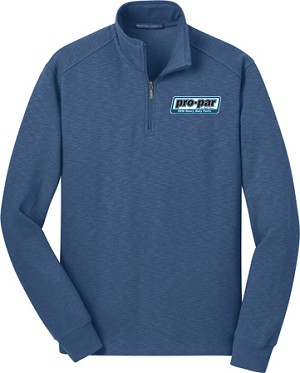 Men's Port Authority Slub Fleece 1/4 Zip