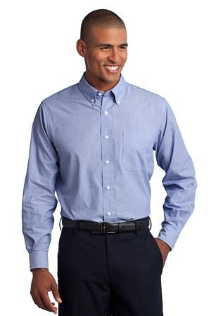 Men's Crosshatch Easy Care Shirt (Tall Sizes Available!)